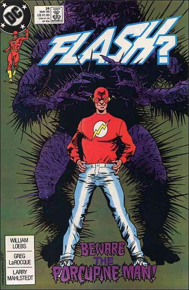 Flash (1987) 26-A by DC