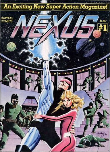 Nexus (1981) 1-A by Capital Comics
