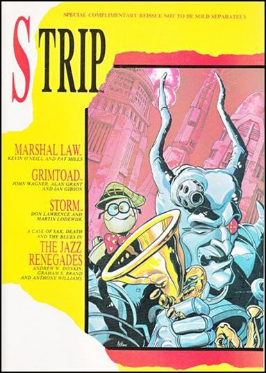 Strip 6-B by Marvel UK