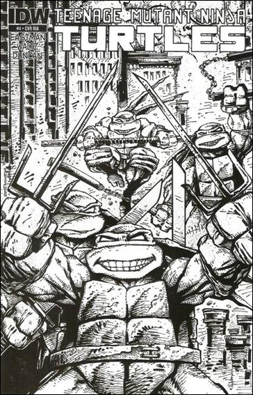 Teenage Mutant Ninja Turtles (2011) 4-C by IDW