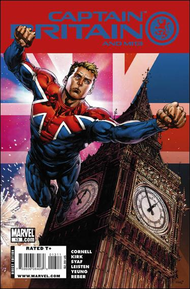 Captain Britain and MI13 13-A by Marvel
