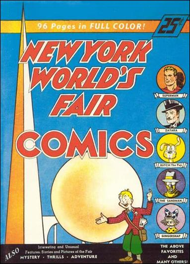 New York World's Fair Comics 1939-A by DC