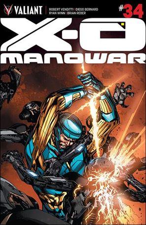 X-O Manowar (2012)  34-E