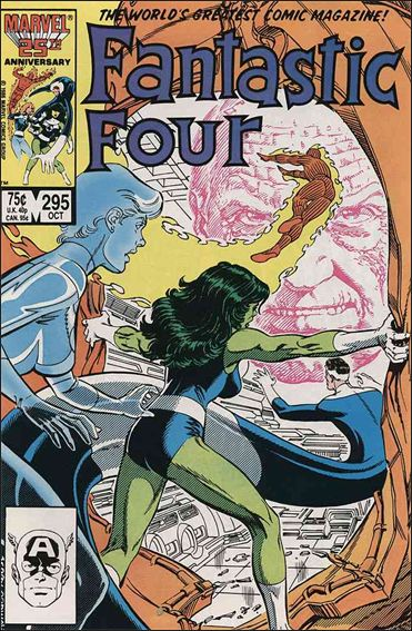 Fantastic Four (1961) 295-A by Marvel