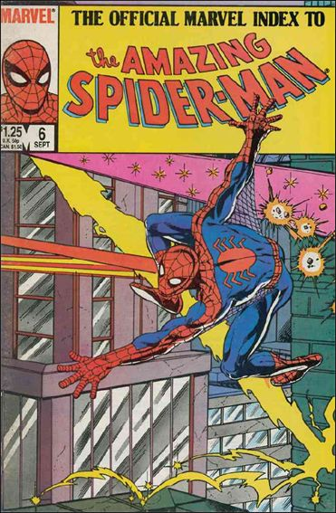 Official Marvel Index to the Amazing Spider-Man 6-A by Marvel