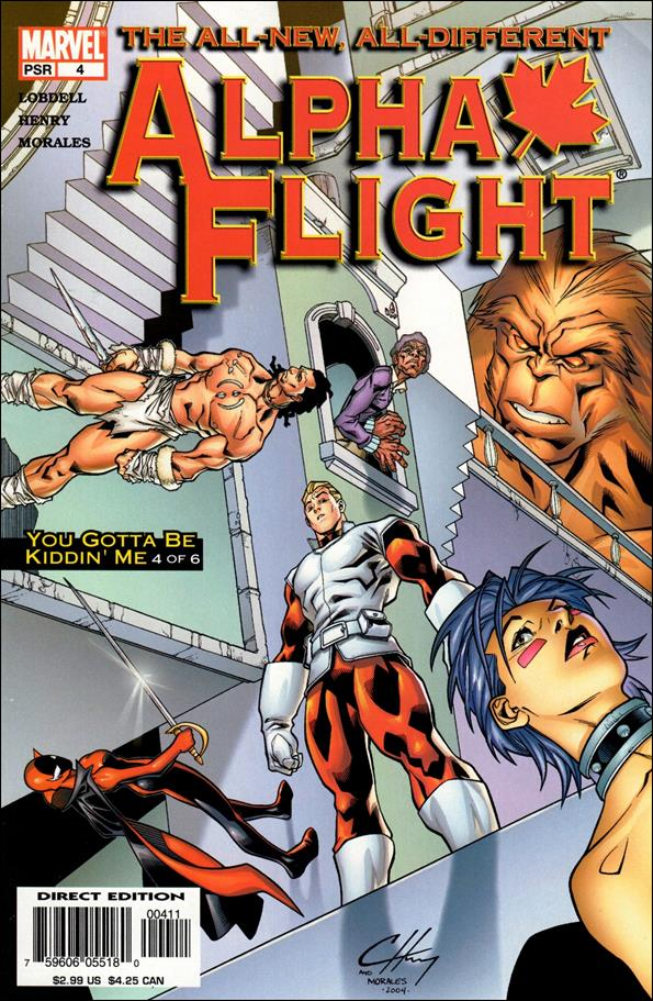 Alpha Flight (2004) 4-A by Marvel