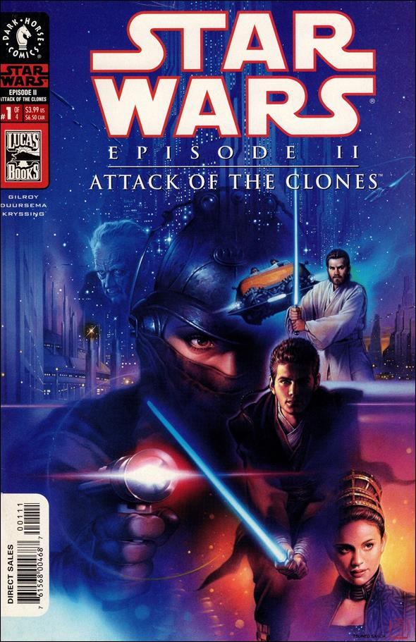 Star Wars: Episode II - Attack of the Clones 1-A by Dark Horse