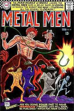 Metal Men (1963) 19-A by DC