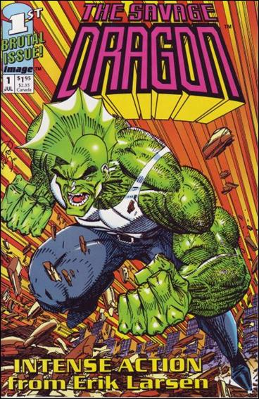 Savage Dragon (1992) 1-D by Image