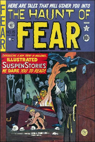 Haunt of Fear (1950) '15'-A by E.C.