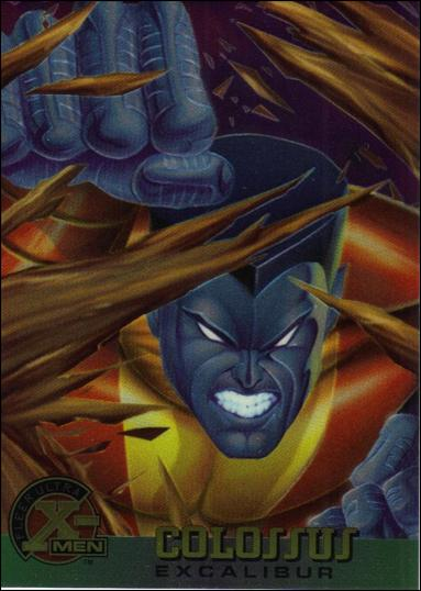 1995 Fleer Ultra X-Men All Chromium (Base Set) 25-A by Fleer