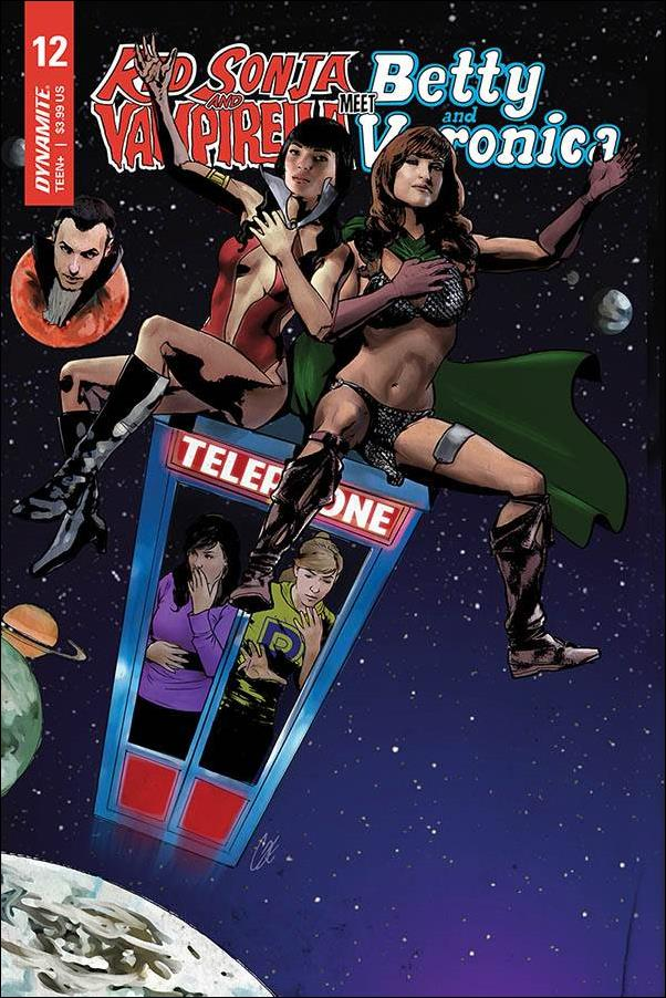 Red Sonja and Vampirella Meet Betty and Veronica 12-E by Dynamite Entertainment