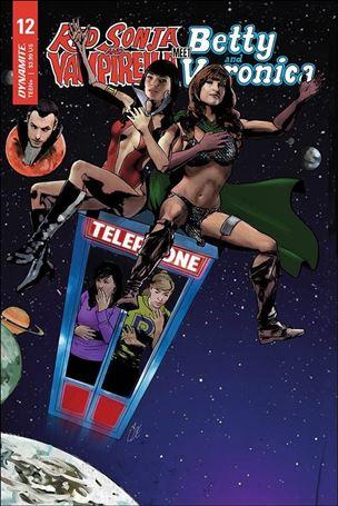 Red Sonja and Vampirella Meet Betty and Veronica 12-E