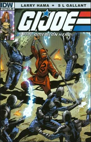 G.I. Joe: A Real American Hero 187-A by IDW
