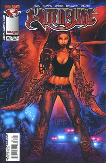 Witchblade 75-B by Top Cow
