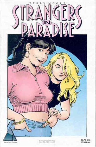 Terry Moore's Strangers in Paradise 17-A by Abstract Studio
