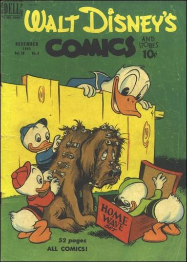 Walt Disney's Comics and Stories (1940) 111-A by Dell