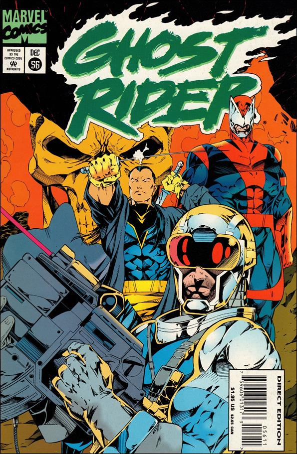 Ghost Rider (1990) 56-A by Marvel