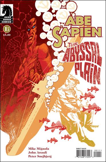 Abe Sapien: The Abyssal Plain 1-A by Dark Horse