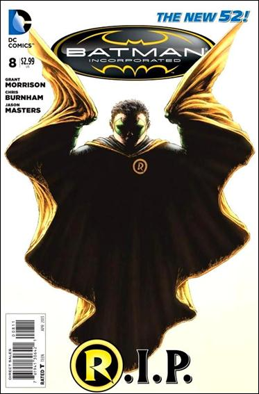 Batman Incorporated 8-A by DC