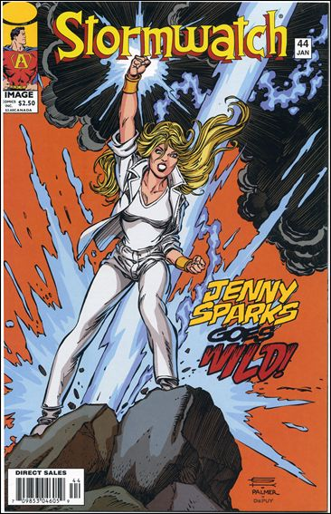 StormWatch (1993) 44-B by Image