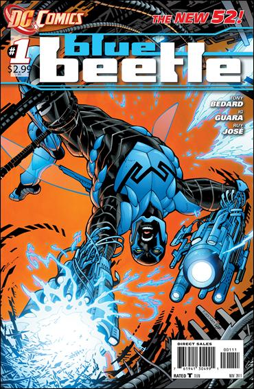 Blue Beetle (2011) 1-A by DC