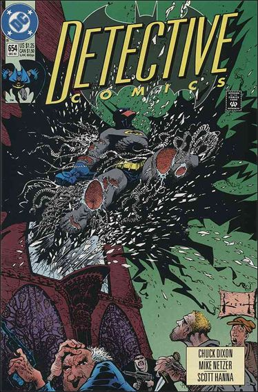 Detective Comics (1937) 654-A by DC