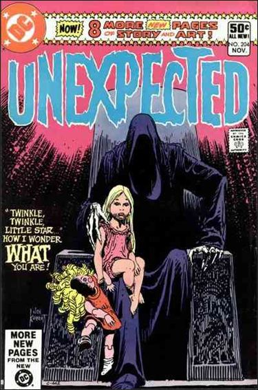 Unexpected (1968) 204-A by DC