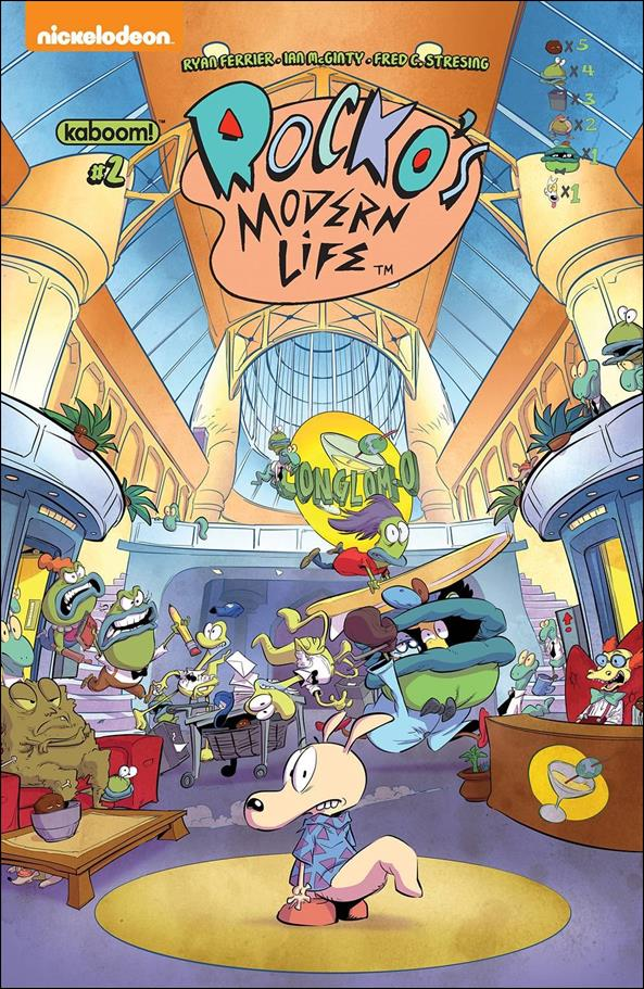 Rocko's Modern Life 2-C by Kaboom!