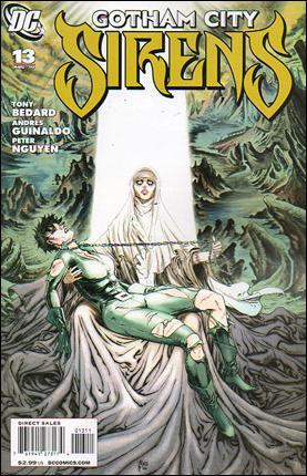 Gotham City Sirens 13-A by DC