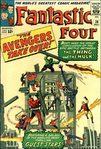 Fantastic Four (1961) 26-A by Marvel