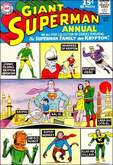 Superman Annual (1960) 5-A by DC