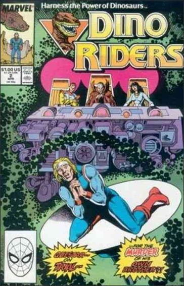 Dino-Riders 2-A by Marvel