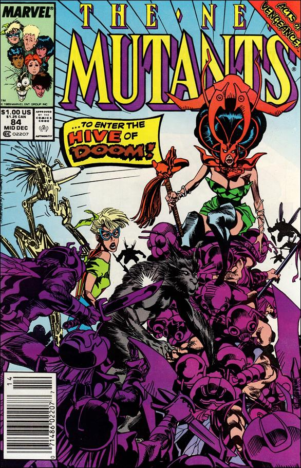 New Mutants (1983) 84-A by Marvel