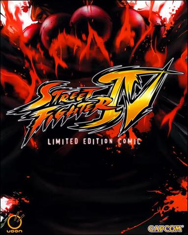 Street Fighter IV: Limited Edition Comic 1-A by Udon