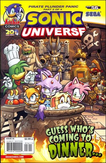 Sonic Universe 56-A by Archie