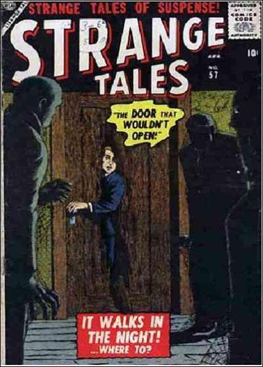 Strange Tales (1951) 57-A by Marvel