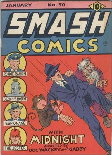 Smash Comics (1939) 30-A by Quality