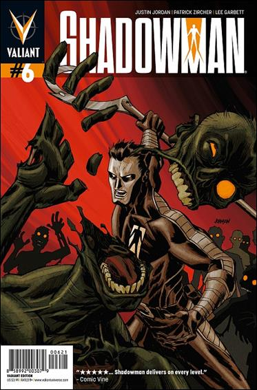 Shadowman (2012) 6-B by Valiant Entertainment