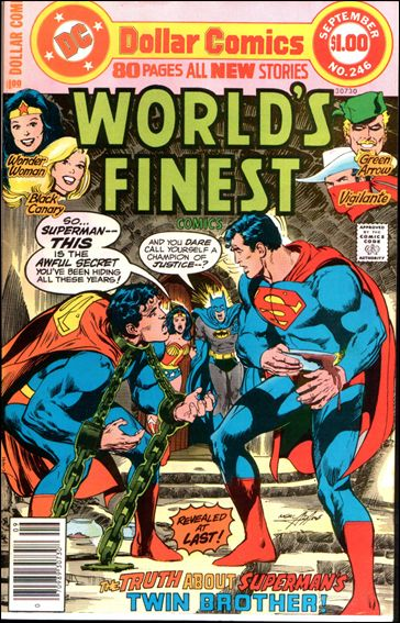 World's Finest Comics 246-A by DC
