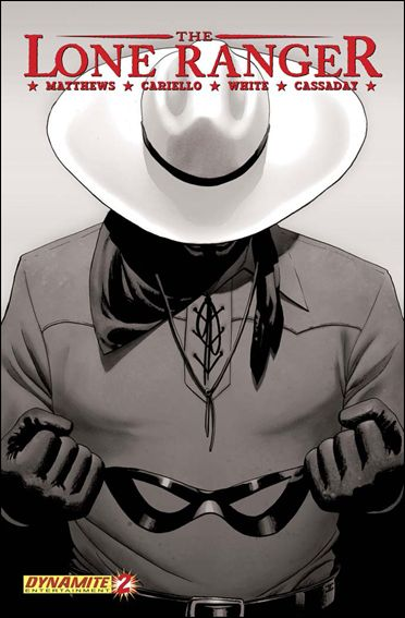 Lone Ranger (2006) 2-B by Dynamite Entertainment