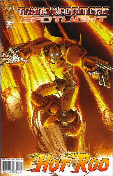 Transformers Spotlight nn3-A by IDW