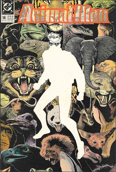 Animal Man (1988) 18-A by Vertigo