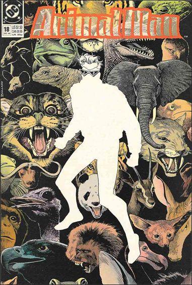 Animal Man (1988) 18-A by Vertigo