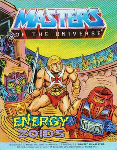 Masters of the Universe (1983) 6.4-A by Mattel