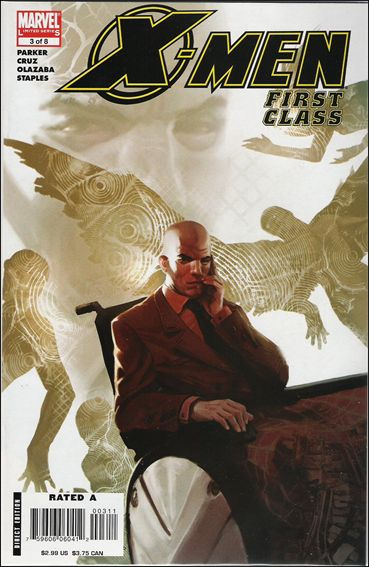 X-Men: First Class (2006) 3-A by Marvel