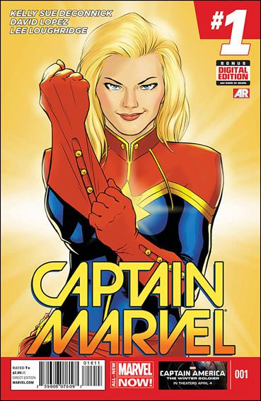 Captain Marvel (2014) 1-A by Marvel