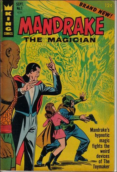 Mandrake the Magician (1966) 1-A by King