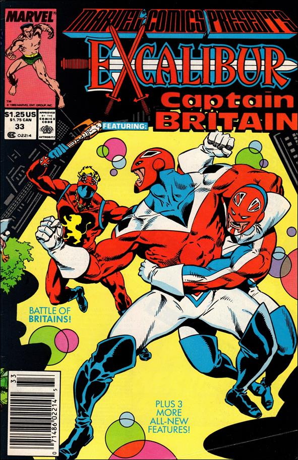 Marvel Comics Presents (1988) 33-A by Marvel