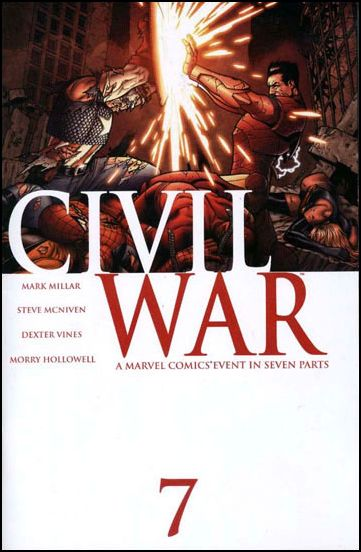 Civil War (2006) 7-A by Marvel